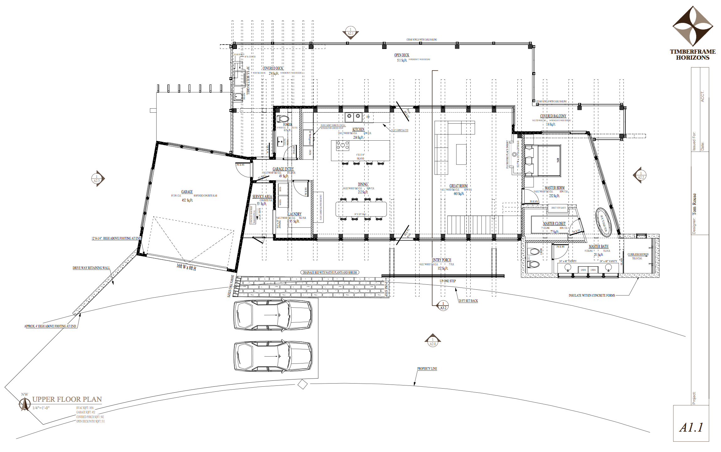 modern timber frame floor plan