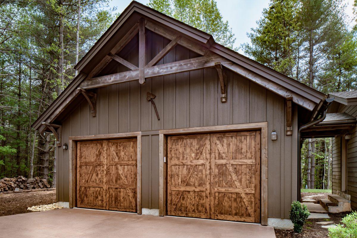 Rustic Retreat Custom Timber Frame Home Timberframe Horizons